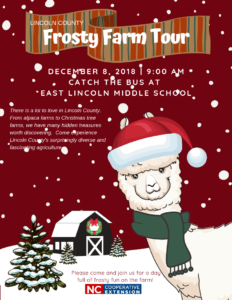 Cover photo for Lincoln County Frosty Farm Tour