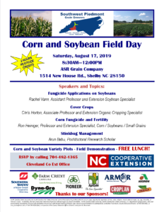 Corn and Soybean Field Day