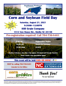 Cover photo for 2021 Corn and Soybean Field Day