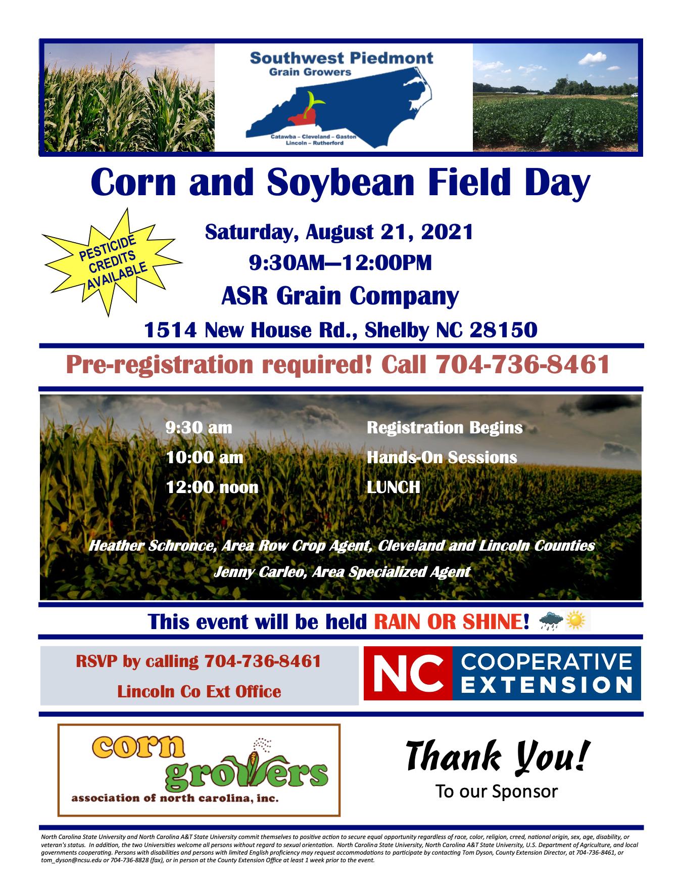 Soybean fields